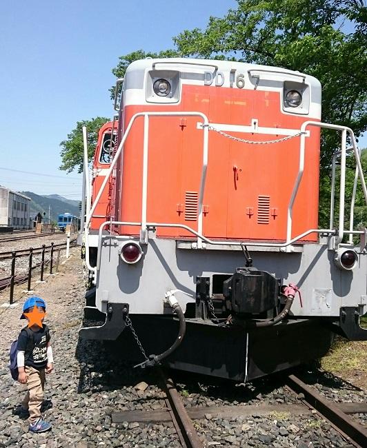 若桜鉄道のDD16