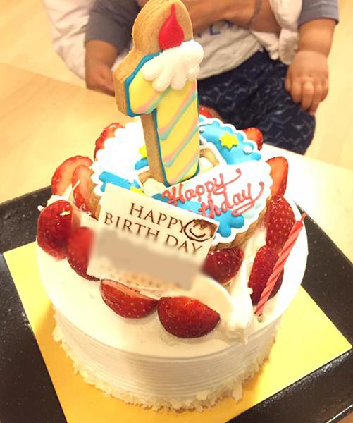 次男・お誕生日ケーキ