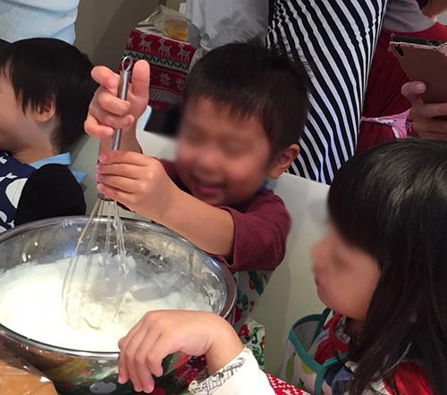 クリスマスケーキ作り3