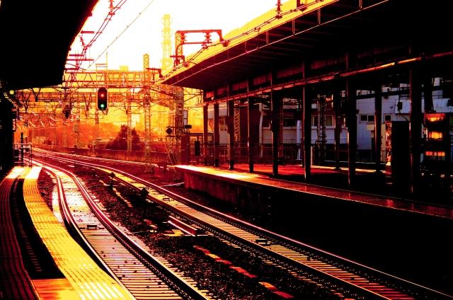 電車での送迎