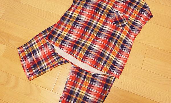 夏のお気に入りパジャマ