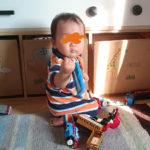 (ブログでは存在感が薄いけど・・・)次男スクスク成長中。