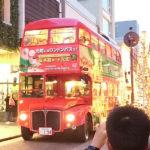 横浜・元町トゥインクルクリスマス2016 ロンドンバスの乗車してきました!