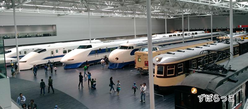 リニア鉄道館の車両展示